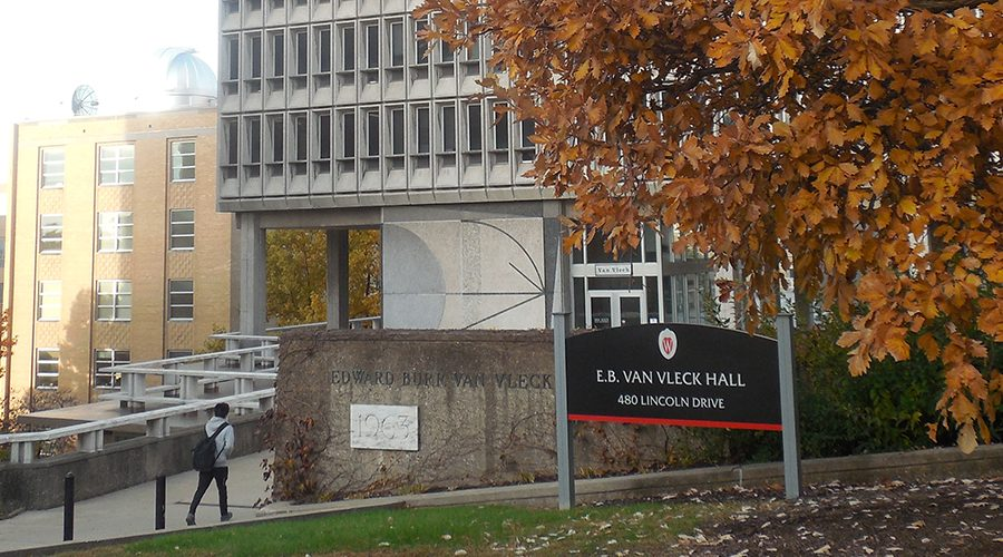 Van Vleck hall on the UW-Madison campus